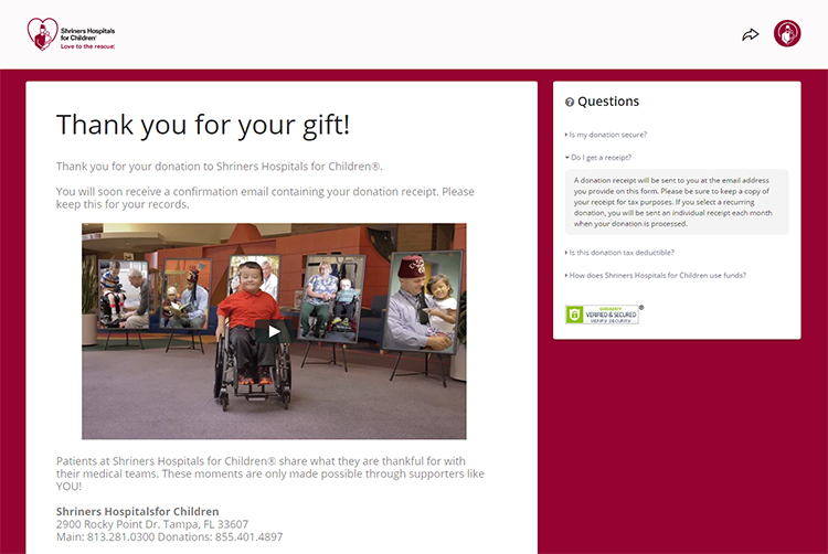 528c26cb7 How do I get a tax receipt for my donation? – Shriners Hospitals for ...